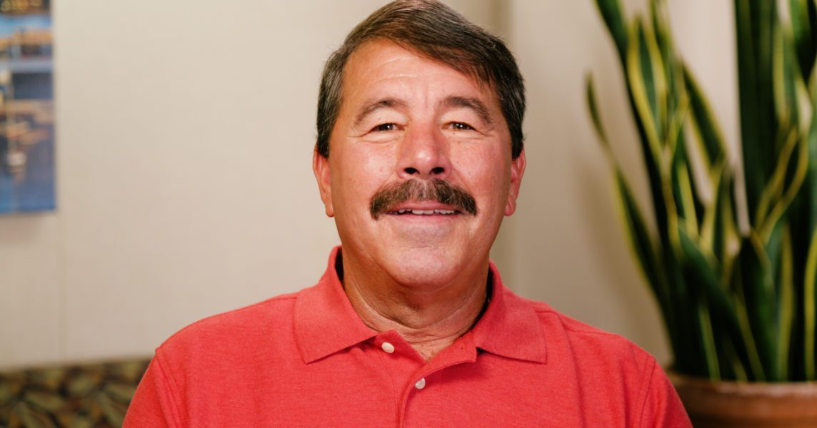 Steve the dental implant patient in Monterey, CA