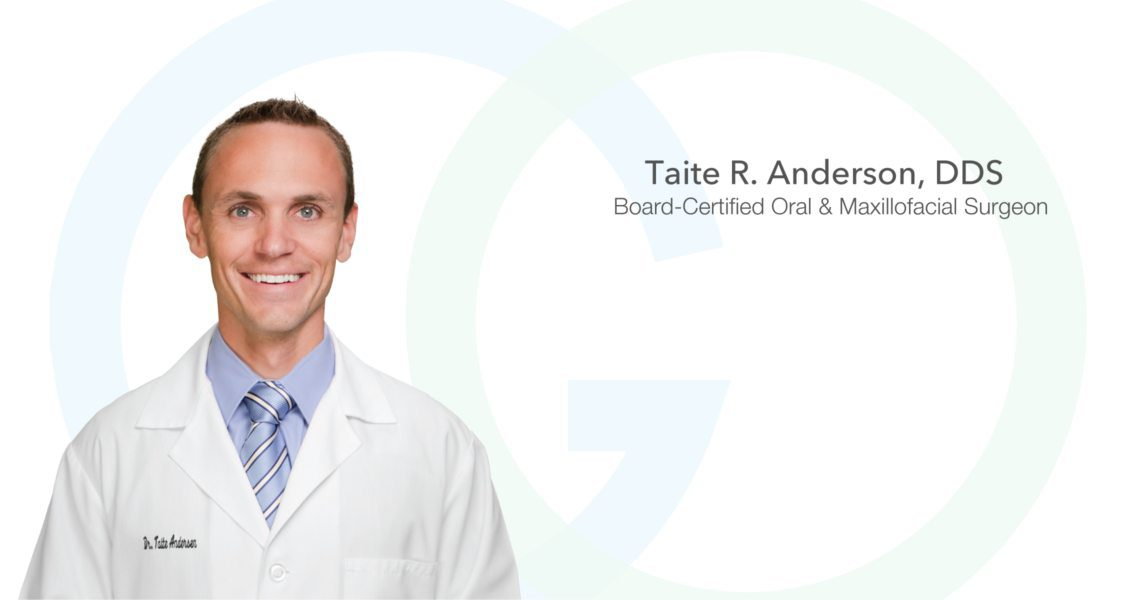 Dr. Anderson at Granger Oral Surgery