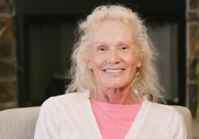Connie the dental implant patient in Granger, IN